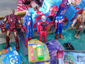 Used action figures of different kinds for Sale in South Gate, CA