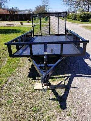 2020 Trailer Pipe Top 12x76 With Gate for Sale in Dallas, TX