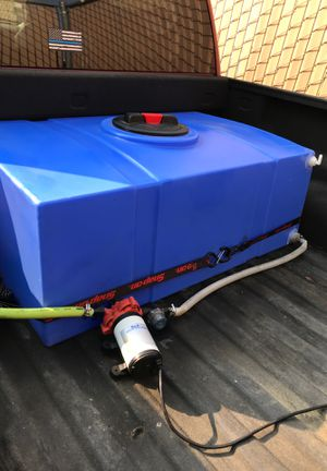 75gal water tank with pressurized water pump for Sale in Chino Hills, CA