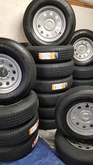 TRAILER TIRES AND WHEELS $70 AND UP.. for Sale in Douglasville, GA