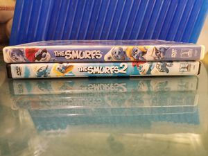 DVD , THE SMURFS & THE SMURFS 2. IN GREAT CONDITION FROM A PET FREE SMOKE FREE HOME $3 for Sale in Scottsdale, AZ