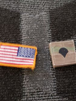 Specialist And Flag Velcro Patches for Sale in Clarksburg,  WV