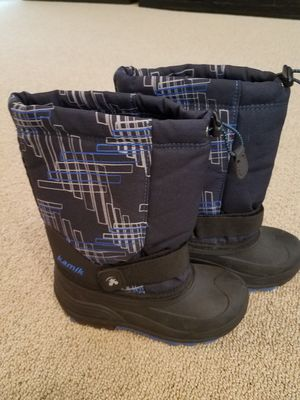 Snow boots size 2 kids for Sale in Gilbert, AZ