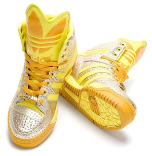 adidas x jeremy scott Bikkutan high-cut yellow for Sale in El Monte, CA