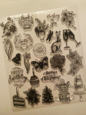 15 piece Variety Stamps/Sentiments (READ) for Sale in Elizabethton, TN