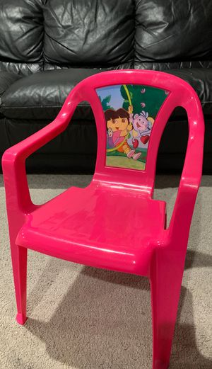 Plastic Dora chair for kids for Sale in Alexandria, VA