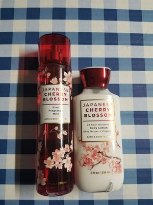BATH AND BODY WORKS- JAPANESE CHERRY BLOSSOM for Sale in Stanton, CA