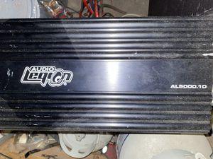 Audio legion mono block bass amp for Sale in Waterbury, CT