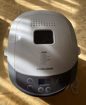 BLACK & DECKER Bread Maker/Bread Machine for Sale in McKinney, TX