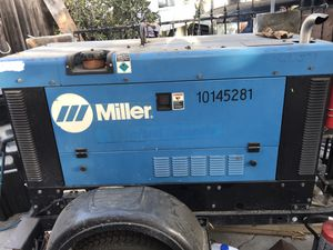 Big Blue 300 Miller Welder With Trailer for Sale in San Diego, CA