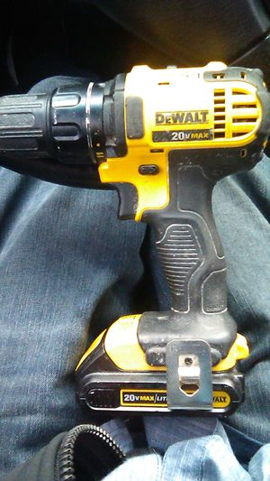 DeWalt 20v hammer drill for Sale in Seattle, WA