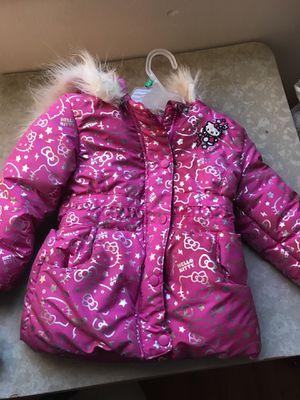 Hello kitty 4t little girls coat for Sale in Detroit, MI