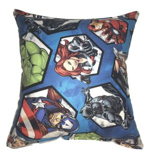 Avengers endgame black panther captain America hulk widow travel size pillow for Sale in Lancaster, PA