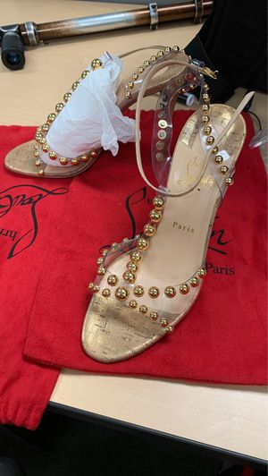Christrian Louboutin heels size 10 in women for Sale in Chino, CA