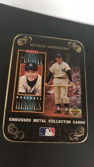 Mickey Mantle Cards Baseball Heroes Metallic for Sale in San Leandro, CA