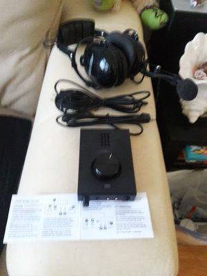 Pro gaming set - Audio controller HEL + Headphones ASA with build-in microphone for Sale in Henderson, NV