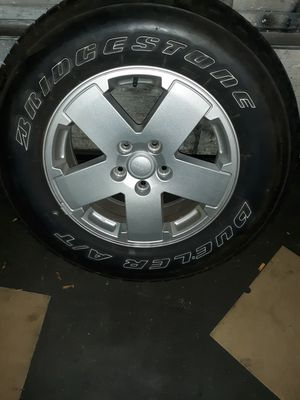 Jeep Wrangler JK Tire and Wheel for Sale in North Providence, RI