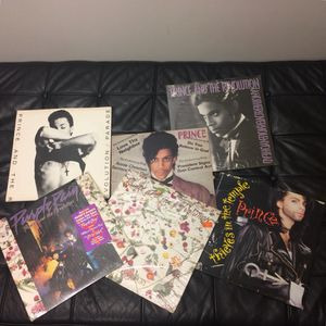Prince Vinyl Record Lot of 8 for Sale in Seattle, WA