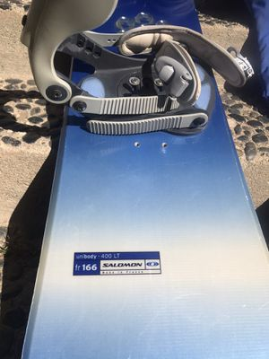 Salomon Snowboard 166 for Sale in Santa Monica, CA