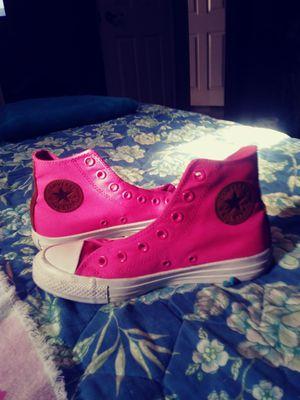 Converse Hi top Sneakers and 1 pair of High heelsAldo for Sale in Cypress Gardens, FL