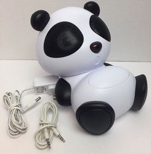 Panda Portable Stereo Speaker System for Sale in Newcastle, WA