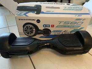 Swagtron Swagboard Vibe T580 App-Enabled Bluetooth Hoverboard w/Bluetooth NEW WITH BOX!!! for Sale in North Bay Village, FL