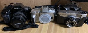 Used but still good Lots of 3 film cameras for Sale in MD, US