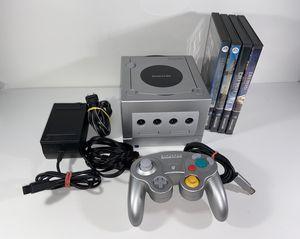 Platinum GameCube System With Games for Sale in Santa Clarita, CA