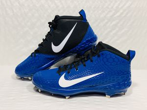 New Nike Force Zoom Trout 5 Men's Blue/black Metal Baseball Cleats/Size 15 for Sale in Batavia, IL