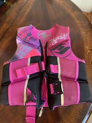 Hyperlite life jacket for boy or girl for Sale in La Pine, OR