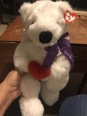 TY Romeo plush teddy bear for Sale in San Jose, CA
