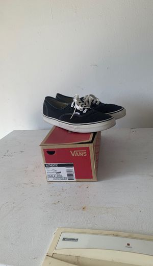 Black / White vans Size 10 for Sale in Clearwater, FL