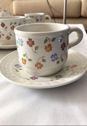 18 COFEE/TEA CUPS & SAUCERS for Sale in Fairfax, VA