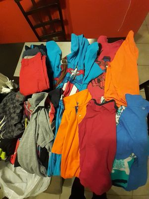 Clothes for kids with 4 book 2 grade. Size 8 for Sale in Boca Raton, FL