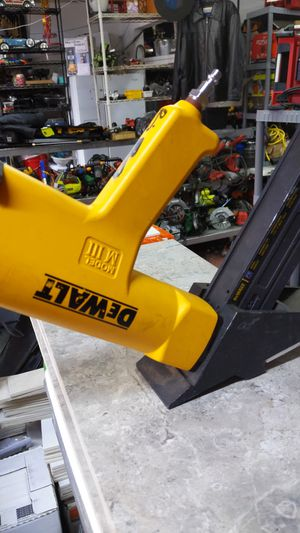 DeWalt flooring staple gun for Sale in Dallas, TX