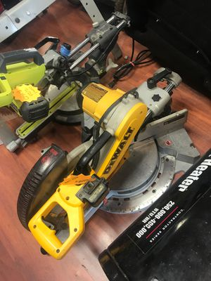 Dewalt dw718 Compound Miter Saw for Sale in Ewing Township, NJ