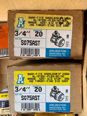 Snap tite saddle grip connectors for Sale in Boca Raton, FL