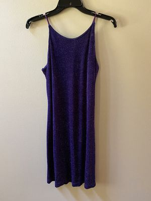 Size 7/8 Bari-Jay purple sparkle cocktail dress for Sale in Dublin, GA