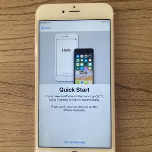Unlocked iPhone 6s Plus Rose Gold for Sale in Bethesda, MD