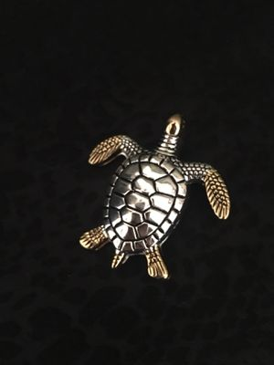 Turtle Brooch Gold and Silver for Sale in Venice, FL