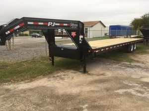 Pj 32' gooseneck straight deck 2019 for Sale in Fort Worth, TX
