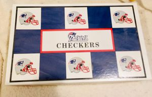 PATRIOTS CHECKERS GAME for Sale in Wells, ME