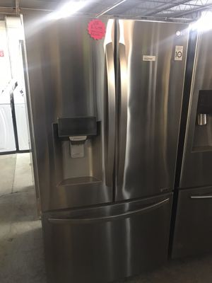 Lg French door stainless steel refrigerator for Sale in Columbus, OH
