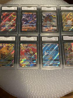 Pokémon 15 GEM Mint 10 Slabs Lot for Sale in Mountlake Terrace,  WA