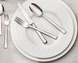 """Villeroy & Boch Cellini (4-Place Settings), Includes Four 10-1/2"""" Dinner Plates, Four 8-1/2"""" Salad Plates. Cream-colored Fine Bone China, New/In Box for Sale in Washington, DC"""