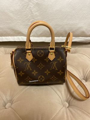 Authentic Louis Vuitton Nano Speedy with store receipt for Sale in Farmers Branch, TX