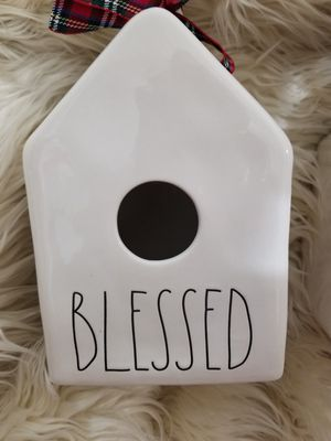 New Rae Dunn 2019 BLESSED Birdhouse. FIRM for Sale in Port St. Lucie, FL