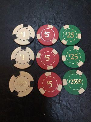 Poker chips for Sale in Medina, OH