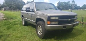 99 chevy tahoe trade for single cab truck work /woods truck for Sale in Lakeland, FL