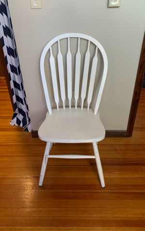 Wood chair for Sale in Wichita, KS